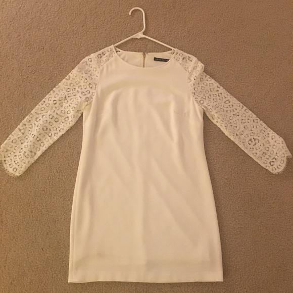 Ivanka Trump Dresses & Skirts - Ivanka Trump short white semi-formal dress